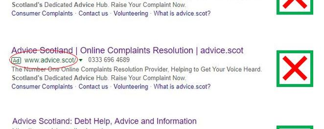 Advice.Scot: When Imitation is Poor Flattery